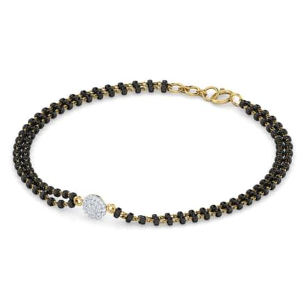 Amita Mangalsutra Bracelet Jewellery India line CaratLane