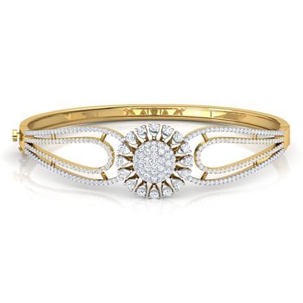 Daisy Flower Bracelet Jewellery India line CaratLane