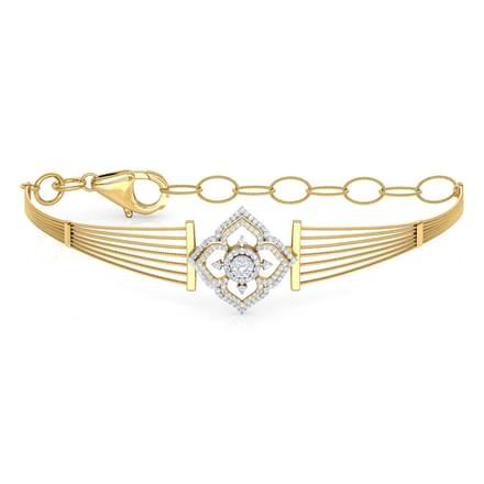Petals Diamond Bracelet Jewellery India line CaratLane