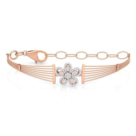 Floret Diamond Bracelet Jewellery India line CaratLane