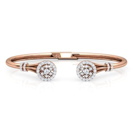 Duo Halo Diamond Bracelet