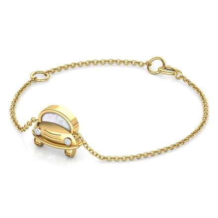 Car Mother of Pearl Kids Bracelet