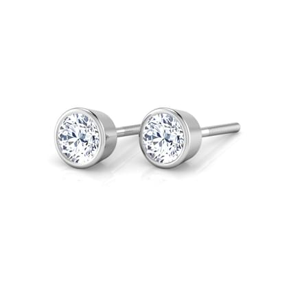 Bezel-set Solitaire Stud mounts