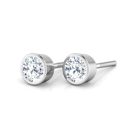 Grooved Solitaire Stud mounts
