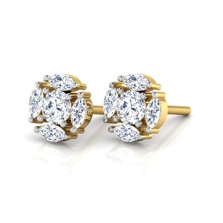Chic Solitaire Earring Mount
