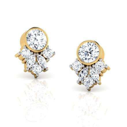 Forever Solitaire Earring Mount