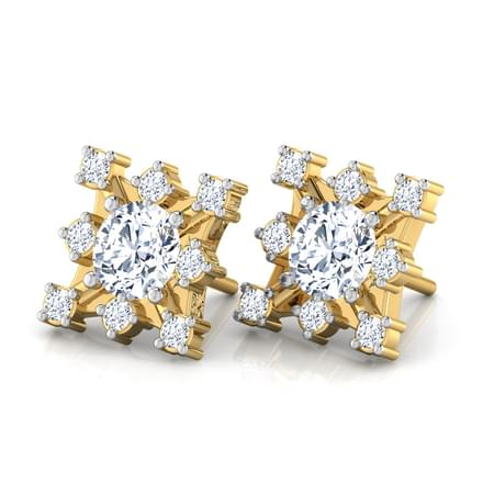Solitaire Cluster Earring Mount