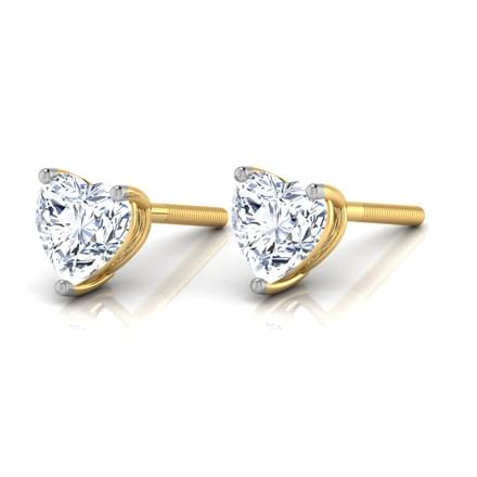 Heartthrob Solitaire Earring Mount