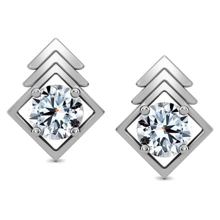 Pinnacle Solitaire Earring Mount