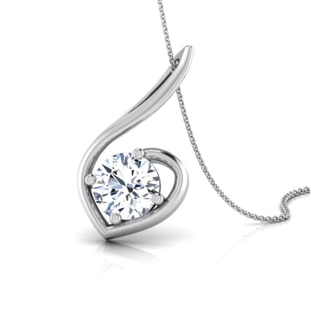 Forever Round Solitaire Pendant Mount