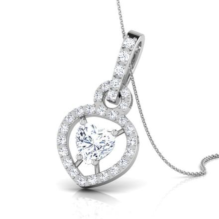 Lovable Mount Diamond Pendant