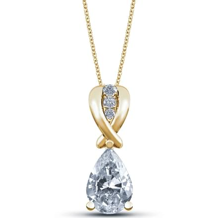 Forever Pear Shaped Pendant