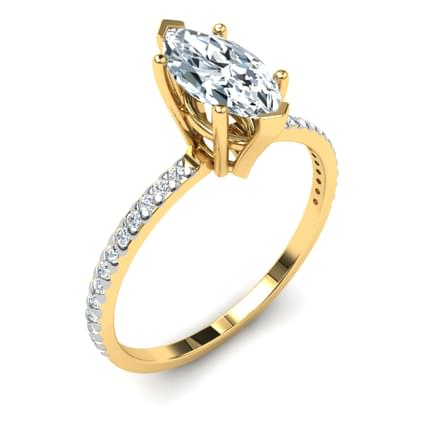 Simple Solitaire Ring Mount