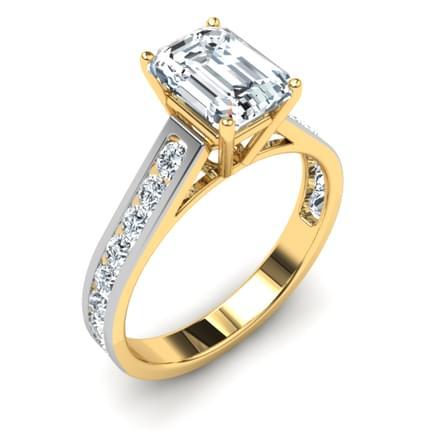 Classic Emerald Ring Mount