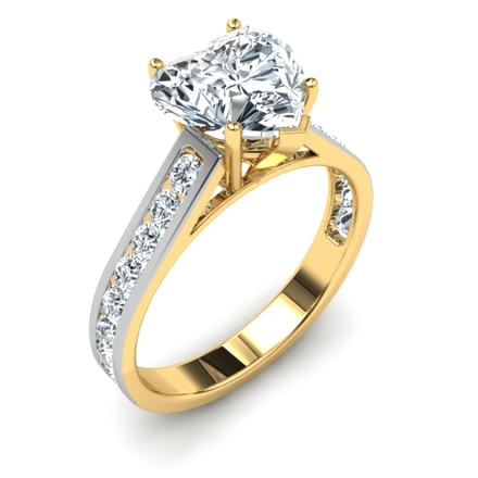 Classic Heart Ring Mount