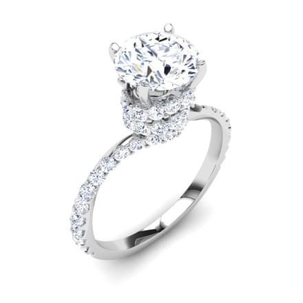 Spiral Solitaire Ring Mount