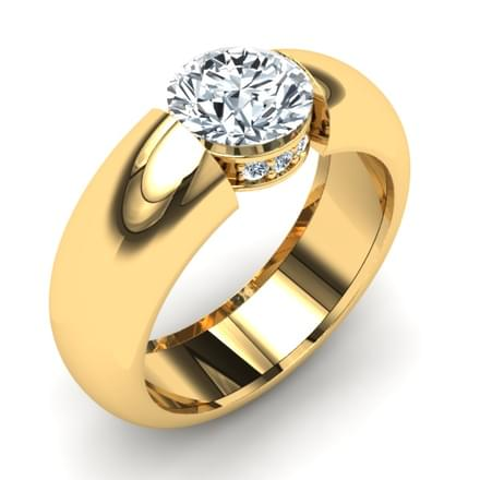 Sole Solitaire Ring Mount