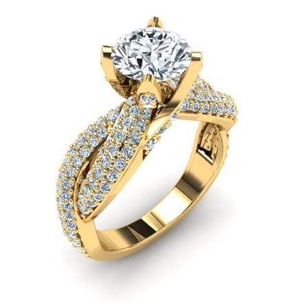 Eternity Ring Mount