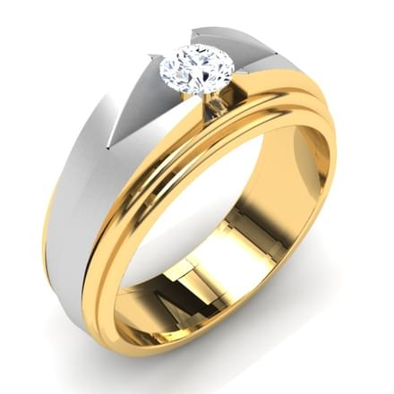 Frances Solitaire Ring Mount for Him