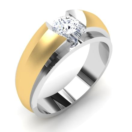 Audrey Solitaire Ring Mount for Him