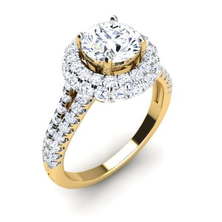 Queenie Halo  Ring Mount