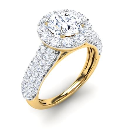 Laine Pave  Ring Mount