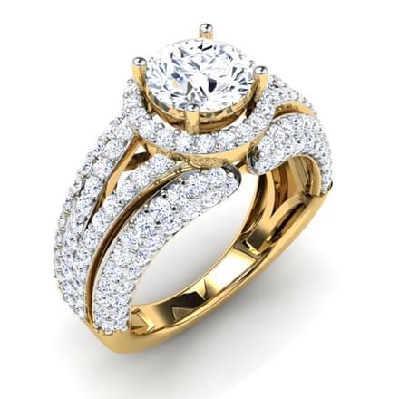 Ellen Split Shank Ring Mount