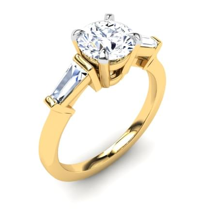 Barbara Baguette Ring Mount
