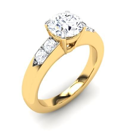 Ashley Side Stone Ring Mount