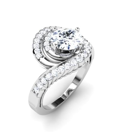 Lilia Curved Ring Mount