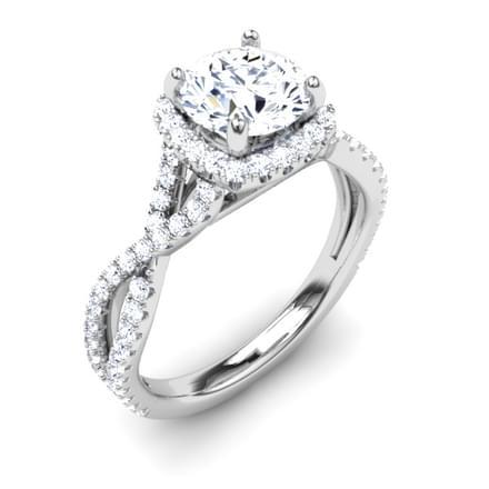 Amabel Glimmer Ring Mount