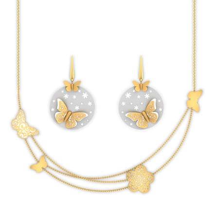 Sue Butterfly Cutout  Matching Set