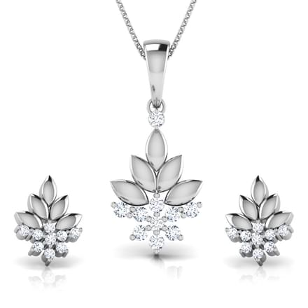 Bouquet Platinum Matching Set