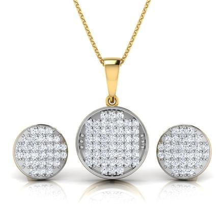 Emma Glitter Button Matching Set
