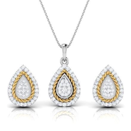 Olivia Filigree Pear Matching Set