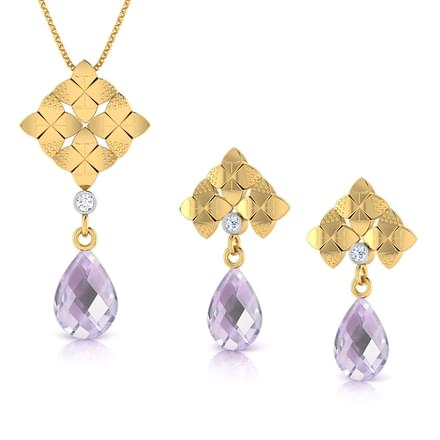 Dew Drop Amethyst Matching Set