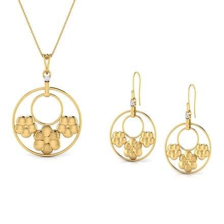 Triple Flower Matching Set