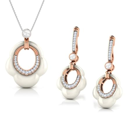 Fawn  Moonstone Matching Set