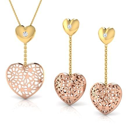 Gail Heart Link Matching Set