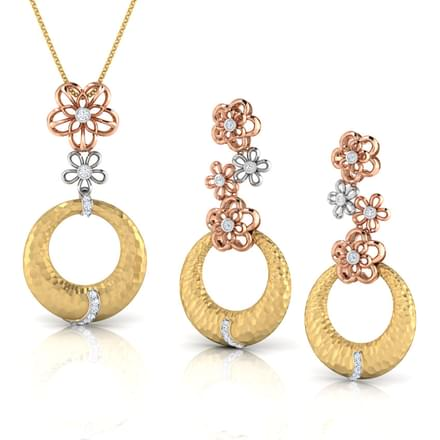 Bruna Hammered Matching Set
