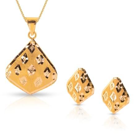 Apra Leaf Gold Matching Set