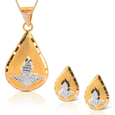 Hita Droplet Gold Matching Set