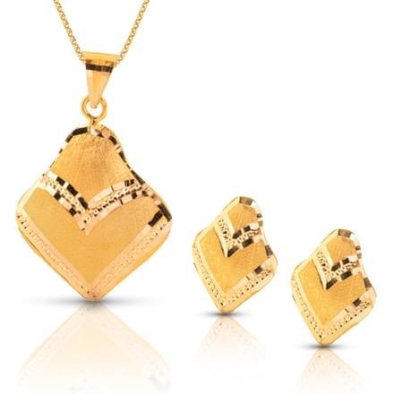 Arna Shine Gold Matching Set