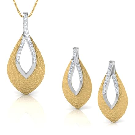 Open Tear-drop Matching Set