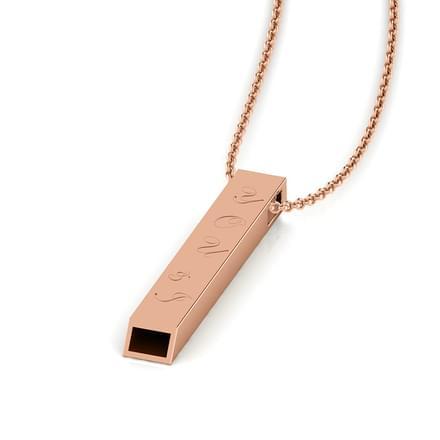Lisa Rose Gold Love Necklace