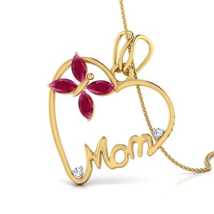 Mother's Heart Pendant