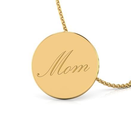 Mom Word Pendant