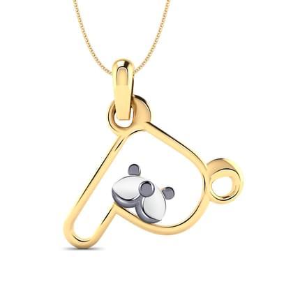Teddy Alphabet  P  Pendant