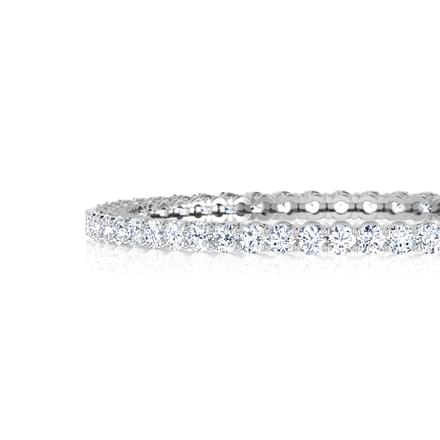 Gleam Solitaire Bangle