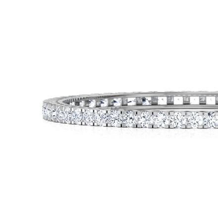Shimmer Solitaire Bangle